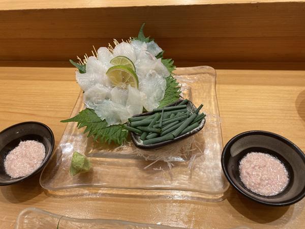 扇寿司本カワハギ