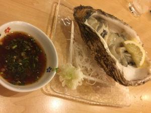 扇寿司生牡蠣